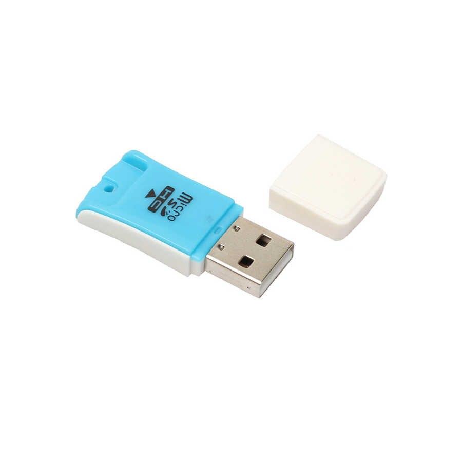 عالية السرعة USB صغير 2.0 مايكرو SD TF T-Flash ذاكرة محوّل قارئ البطاقات ل كاميرا رقمية PC هاتف محمول جهاز كمبيوتر ماك