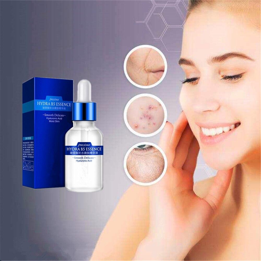 Suero de ácido hialurónico, antiarrugas, antienvejecimiento, humectante, blanqueador, en lugar de inyección, Extracto de planta puro 100%|Suero| - AliExpress