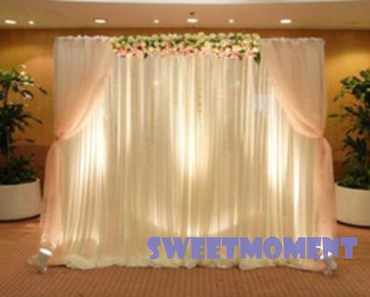 3x6m Premium Wedding Backdrop For Wedding Decoration Wedding Drape Curtain Door With Simple