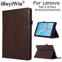 Luxury Magnetic Smart PU Leather Case For Lenovo Tab 4 8 Plus TB 8704F 8704N 8704X
