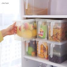 ISHOWTIENDA 1pc Storage Box Kitchen Storage Collecting Box Basket Kitchen Refrigerator Fruit Food Organiser Utility Contain