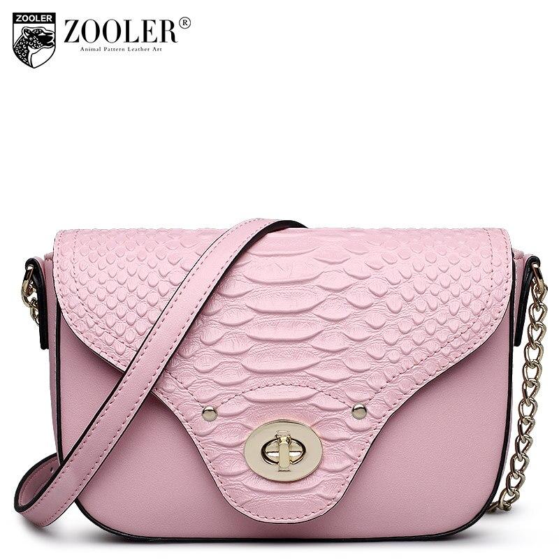 ФОТО ZOOLER 2017 hot mini bags women messenger bag genuine leather shoulder bags cross body chains 100% cowhide bolsa feminina#6920