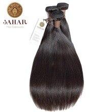 SAHAR Brazilian Straight Hair Bundles Human Hair 100% Remy Hair Weave Bundles 1/3/4 PCS Natural Black 12-28 Inch Free Shipping все цены