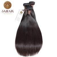 SAHAR Brazilian Straight Hair Bundles Human Hair 100% Remy Hair Weave Bundles 1/3/4 PCS Natural Black 12 28 Inch Free Shipping