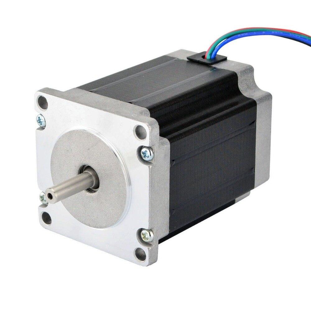 Nema 23 stepper motor Bipolar 1.9Nm (269oz.in) 57x57x76mm 4Wires for CNC milling machineNema 23 stepper motor Bipolar 1.9Nm (269oz.in) 57x57x76mm 4Wires for CNC milling machine