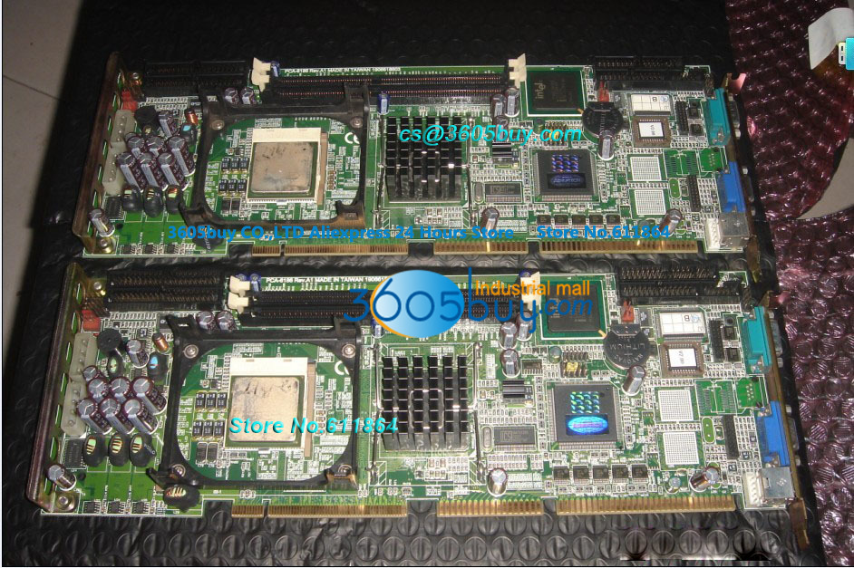 PCA-6186LV 100% tested perfect quality CPU card Industrial Motherboard
