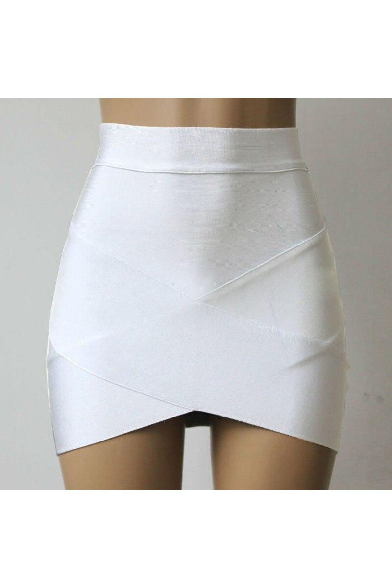 HTB1d5QaQFXXXXcoXFXXq6xXFXXX2 - Stretch Bodycon Short Sexy Slim Mini Skirt White PTC 163