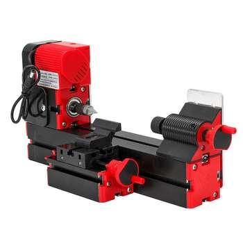 20000rpm Mini Metal Lathe DIY Power Tools Motorized Processing Metal Lathe Variable Speed Lathe Metal Lathe Woodworking Tools