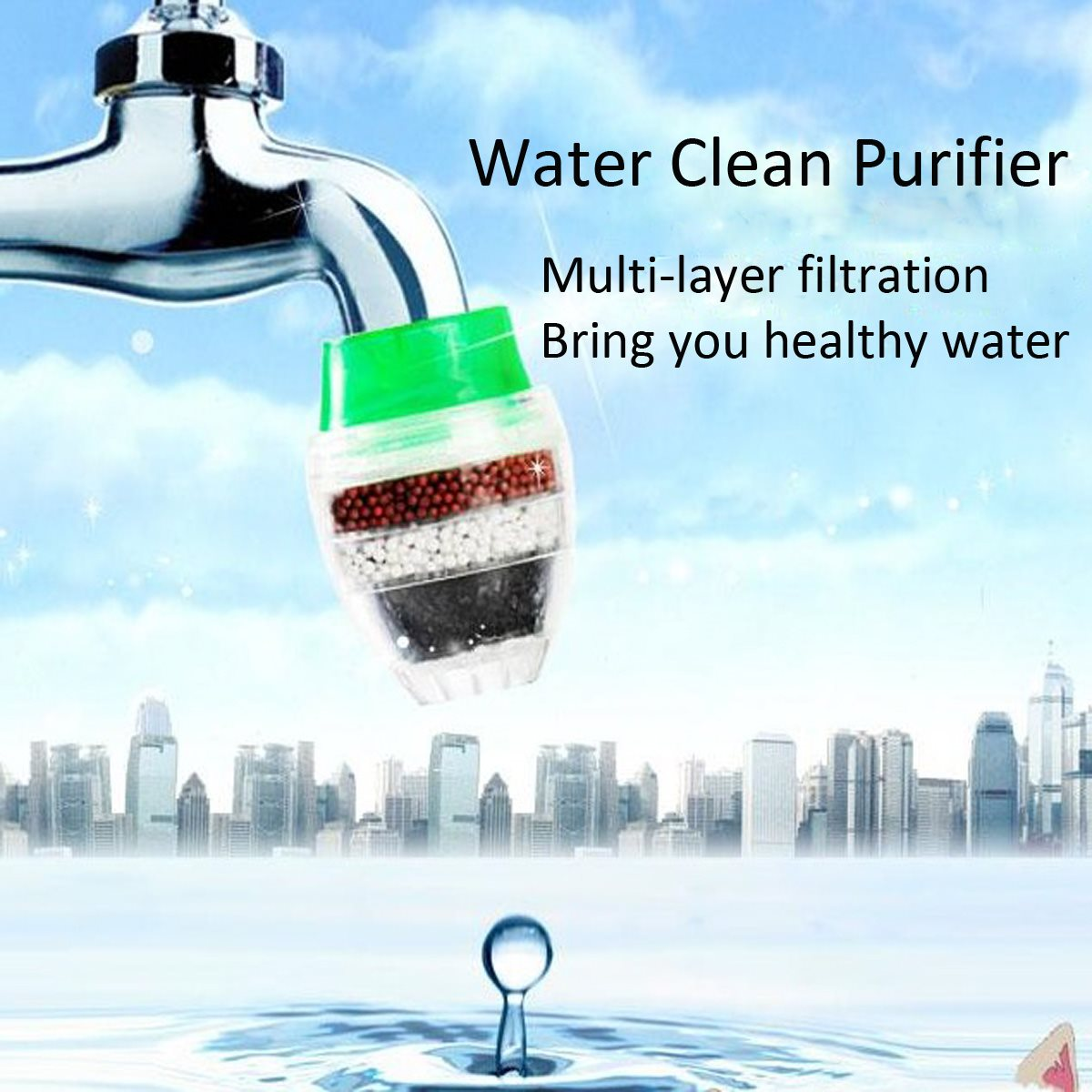Water Filter Carbon Home Household Kitchen Mini Faucet Tap Water Clean Purifier Filter Filtration Cartridge 1pcs kitchen water filter faucet healthy ceramic cartridge tap household activated carbon faucet mineral clear filter for water