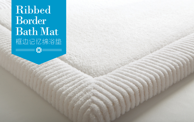 Top Quality Luxury Thick Coral Velvet Memory Foam Carpets Bath Mats Bathroom  Floor Towel Anti