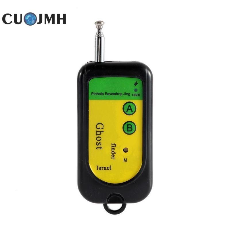 1 pièces Signal sans fil Rf détecteur traceur Mini caméra Finder capteur fantôme 100-2400 Mhz Gsm alarme dispositif Radio fréquence vérifier