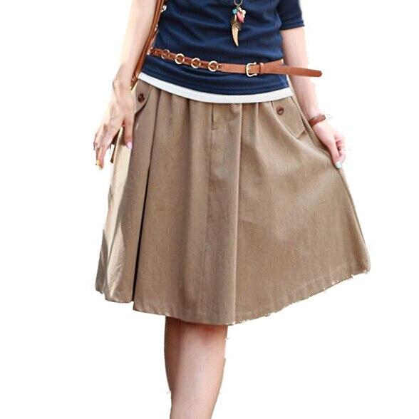 7877c137a2e33 Khaki Skirts For Women - Dress Ala