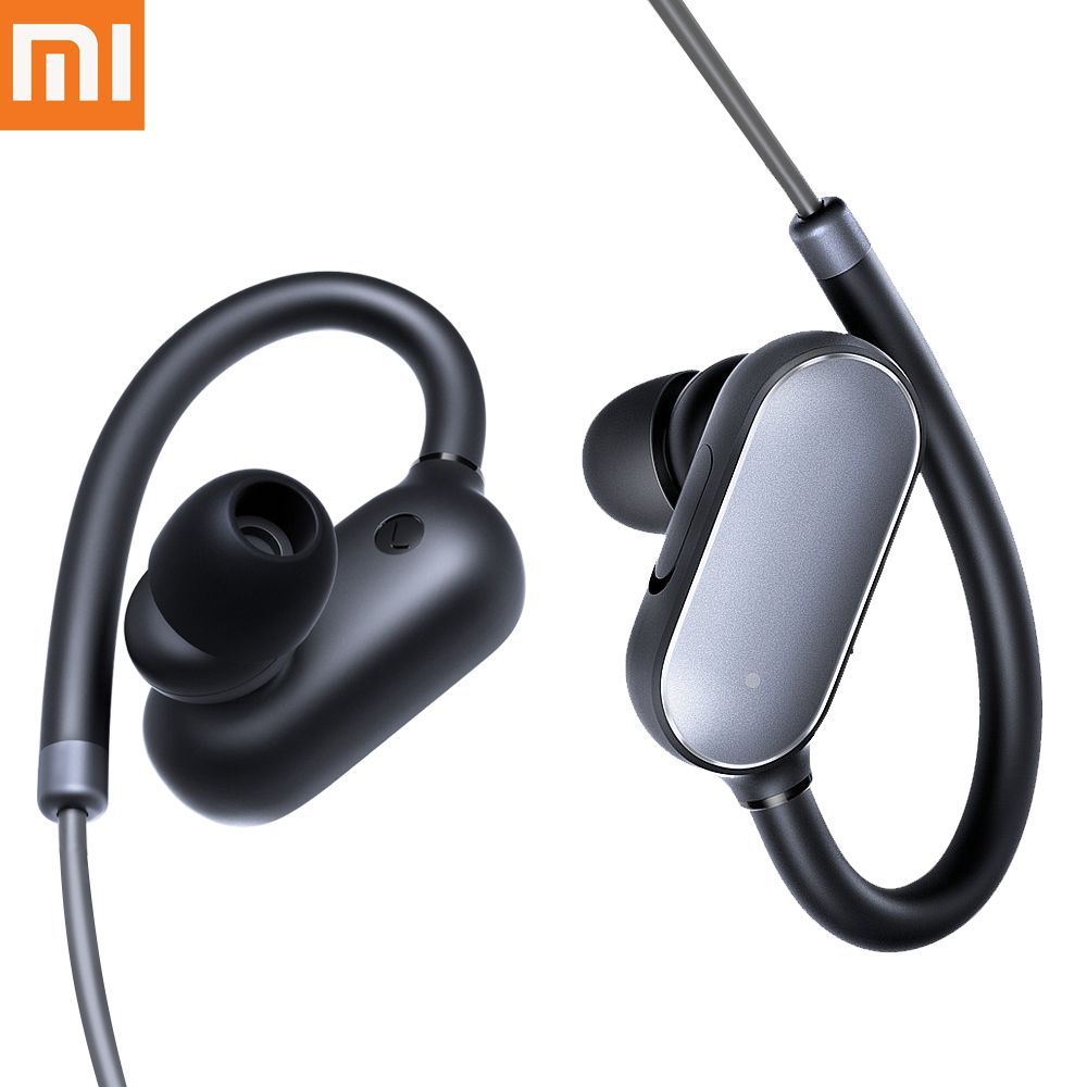 Original Xiaomi Mi Bluetooth 4.1 Earphones With Mic Noise Cancelling Wireless IPX4 Waterproof Mi Music Sports fone de ouvido ipx8 bluetooth earphone mp3 bluetooth headphones wireless earphones airpods handsfree ear noise cancelling fone de ouvido