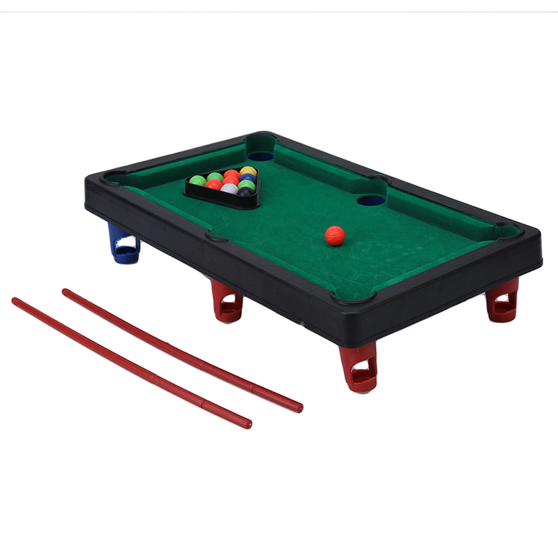 Sports Game Mini Pool Billiards Table Game Baby Toy Kids Table Board Games  Ball Gift Free