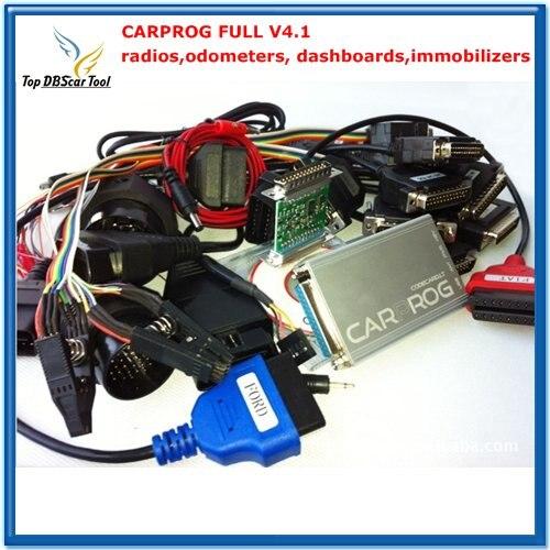 Цена за Авто ремонт инструмента CARPROG Полный V4.1 21 адаптер со всеми программного обеспечения и бесплатной доставкой по DHL