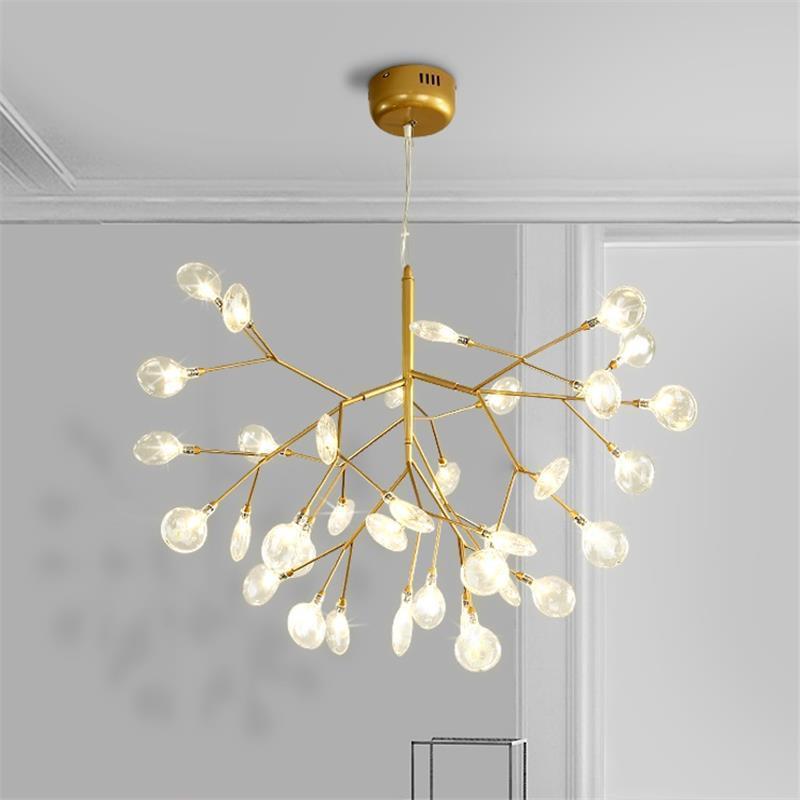 Chambre Fille chair salle à manger lumière Lampara De Techo Colgante Moderna Suspendu Suspension Luminaire déco Maison Suspension