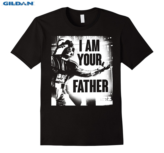 fe25e8ca Star Wars Darth Vader Your Father Dad Spray Paint T-Shirt Fashion Design  Free Shipping White O Neck Cotton T Shirt