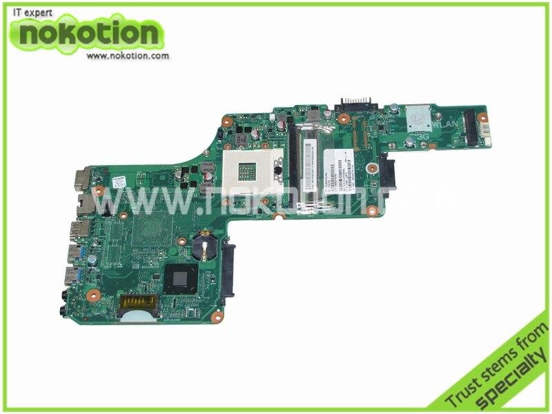 NOKOTION PN 1310A2491305 SPS V000275290 motherboard For Toshiba Satellite L855 Series laptop Intel HM76 DDR3 nokotion laptop motherboard for toshiba satellite a100 a105 series intel 945gm ddr2 v000068120