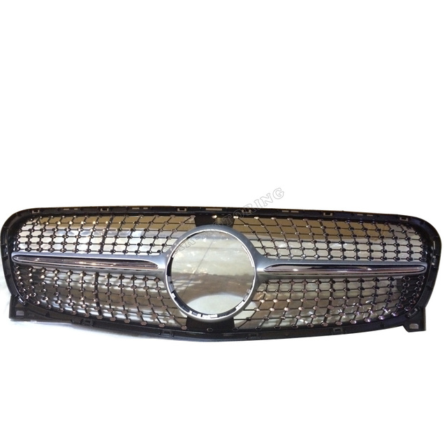 CLA car styling ABS car front grill grille for benz CLA C117 CLA260 CLA45 2015-2016