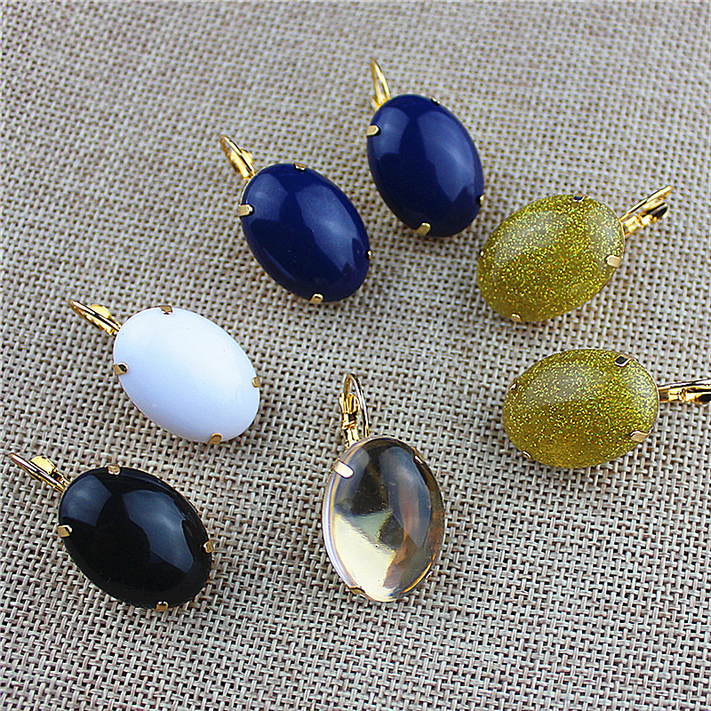 Hot new fashion, gorgeous female jewelry wholesale, Girls Birthday beautiful, many colors, ear hook earrings, shipping agent