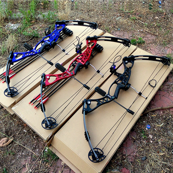 Right Hand And Left Hand Adjustable Archery Hunting And Fishing Compound Bow Sets