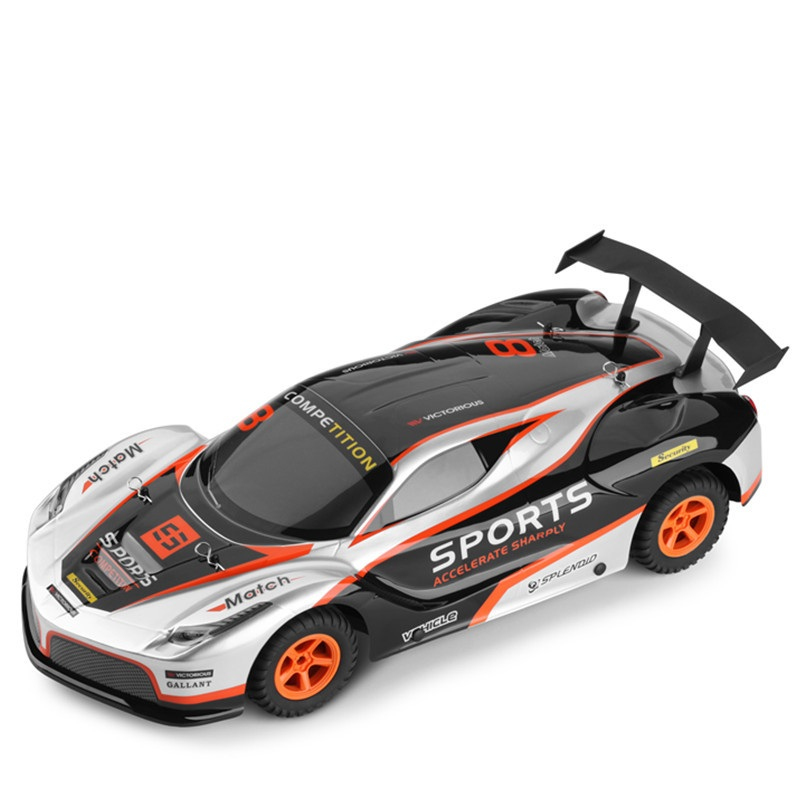 2018 Championship Sports 2.4G 1:10 Sacle 45CM Electric 2WD RC Racing Car 35KM/H High Speed Flat Run Racing RC Truggy Car Model cml rc 1 10 soft rubber racing grip tires model for on road flat run car 4 pcs