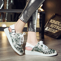 2017 New Female Summer Shoes Leather Slingbacks Ladies Shoes Comfortable Casual Shoes Woman