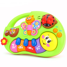 Baby Musical Toys 6 Month+ Lights Educational Toys For Children Brinquedos Para Bebe Oyuncak Baby Toys 13-24 Months(China)