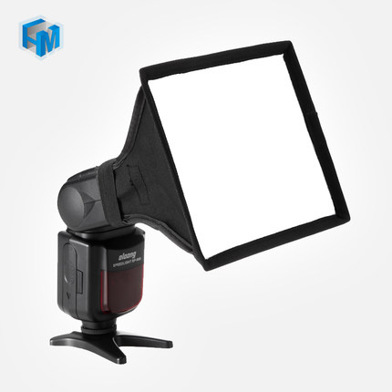15 * 17 cm Universal Mini Difusor Softbox Portátil para Flash Speedlite Speedlight para Sony para Nikon