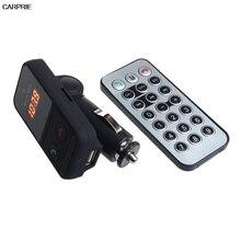Беспроводная Связь Bluetooth Fm-передатчик Модулятор Автомобильный Комплект Mp3-плеер SD USB ЖК-ДИСПЛЕЙ usb передатчик для автомобиля
