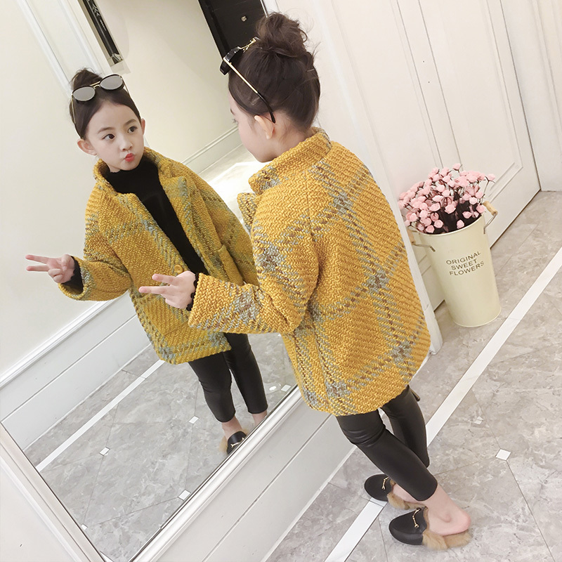 275af36109b3 0-6 years 2018 autumn winter fashion Solid warm kid children baby ...
