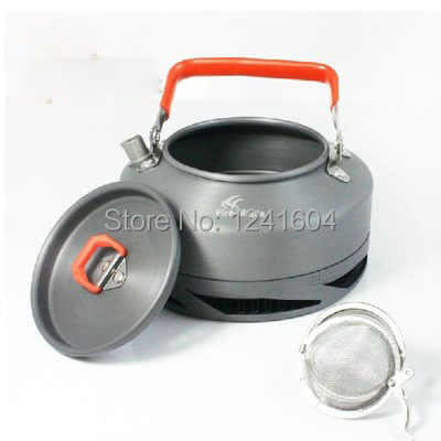 Hot Sale Coffee Maker 0.8L Heat Exchanger Pot Outdoor Camping Picnic Cookware Kettle Camp Equiment Fire Maple FMC-XT1