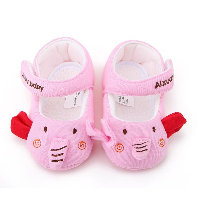 Newborn Baby Girls Cartoon Design Infant Shoes Soft Cotton First Walker Baby Toddler Shoes