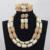 2017 de La Manera Sistemas de La Joyería Nupcial de La Boda Africana de Nigeria Coral Blanco Como La Leche/Mujeres Collar de Perlas de Set Envío Libre CJ799