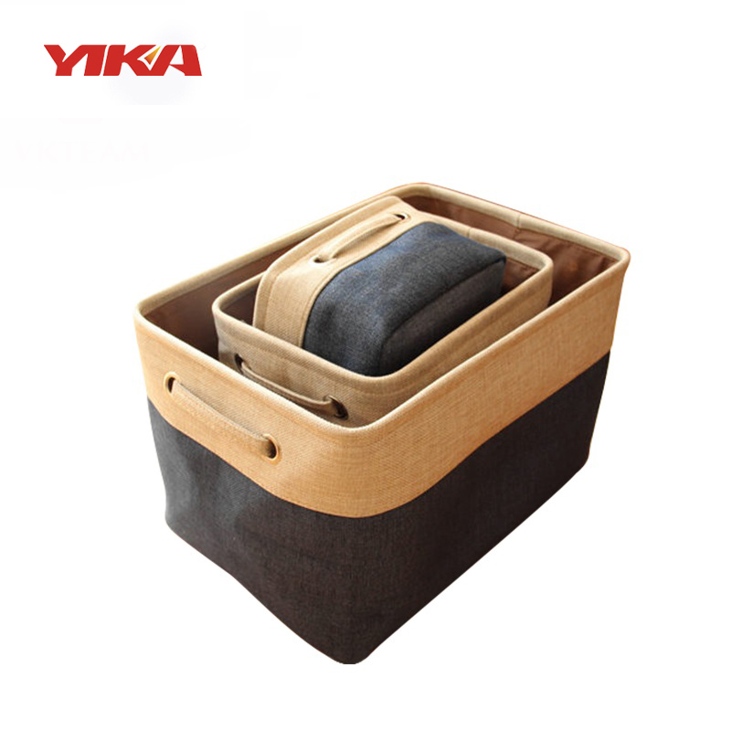 Yi ka Multi Function Clothing Toys Organizer Cotton box