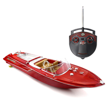 Flytec HQ2011-1 27MHz 2CH 15km/h High Speed Boat Electric RC Boat Ship Radio Control Speedboat barco RC Toys for Children Gifts