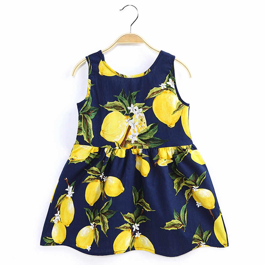 Детское мини-платье без рукавов с круглым вырезом и шнуровкой для маленьких девочек; платье принцессы; HOOLER
