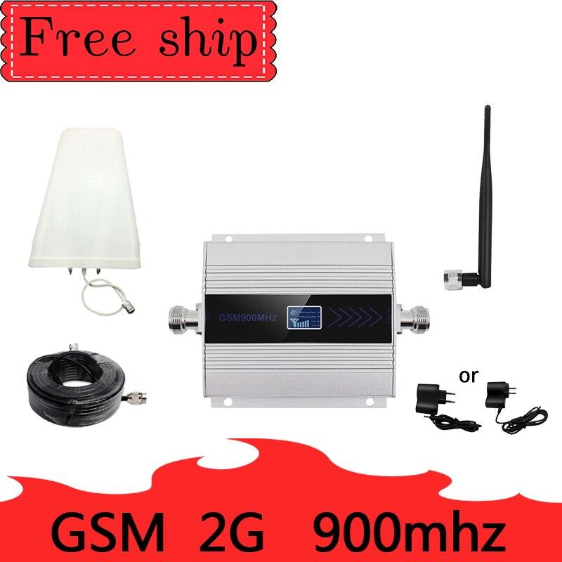 Russie 2G 900 MHz GSM répéteur GSM UMTS 2g 900 MHZ Signal Mobile répéteur amplificateur de téléphone portable 5dBi antenne fouet