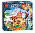 2016 BELA Azari Elfos Mágicos Bloques Huecos de Panadería Amigo Princesa de Hadas Regalos de Navidad Juguete Compatible Legoe 41074