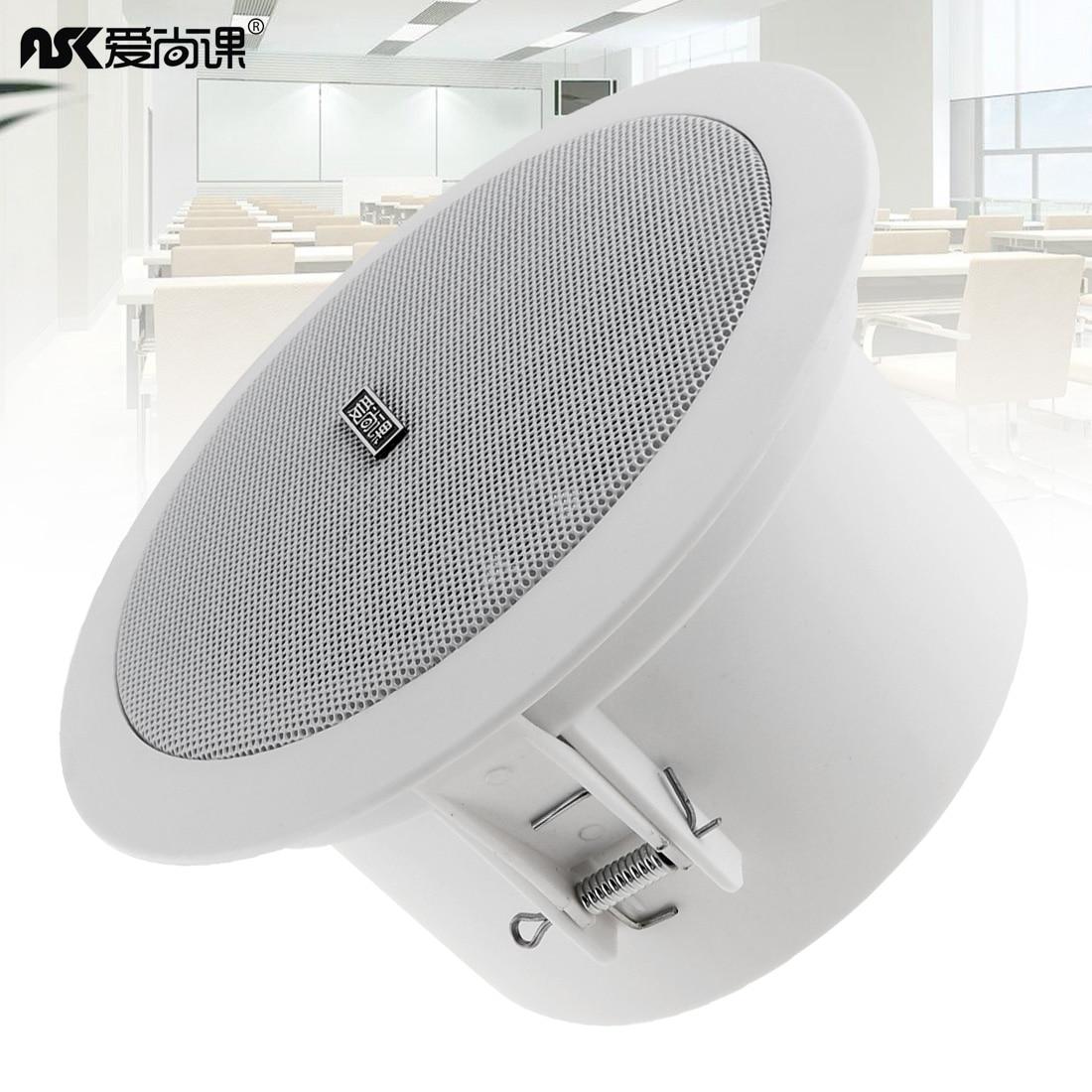 buy hifi big ceiling speaker background music dj soundbar tv speakers outdoor. Black Bedroom Furniture Sets. Home Design Ideas