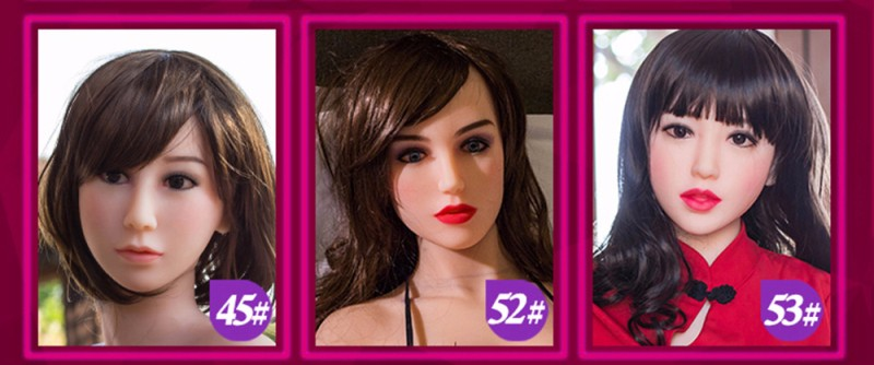 select you preferred face type for your sex doll