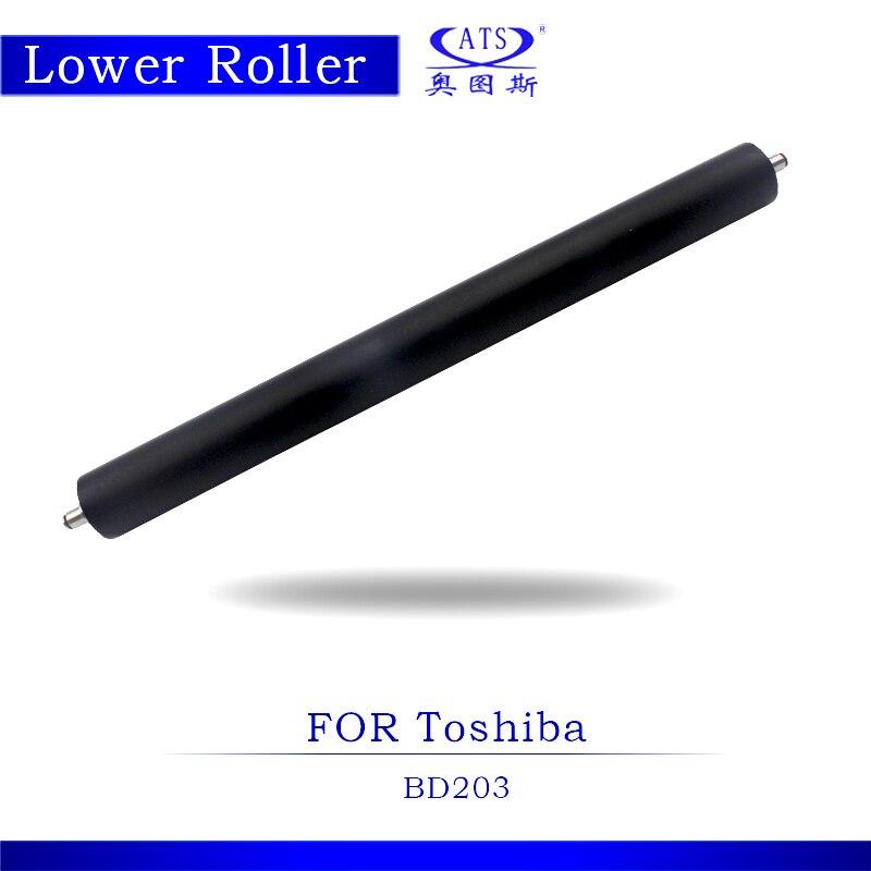 1pcs Photocopy Machine Pressure Lower Fuser Roller For Toshiba E-studio BD 203 Coiper Parts BD203