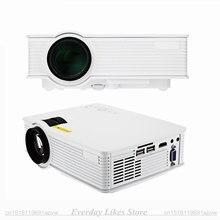 Original Probable GP-9 LED Proyector Mini proyector del Teatro Casero 2000 Lúmenes Máximos 1920*1080 Pixels Multimedia HD LCD de Proyección GP 9