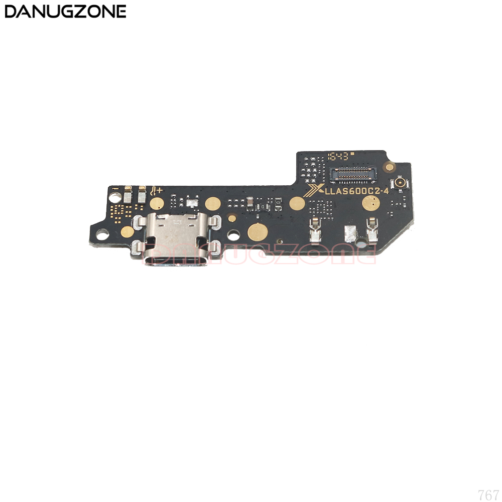 USB Charging Port Dock Plug Jack Connector Charge Board Flex Cable With Microphone For Motorola MOTO M XT1662 XT1663