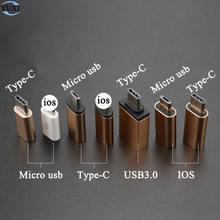 Yuxi type c конвертер в micro usb 30 Стандартный адаптер для