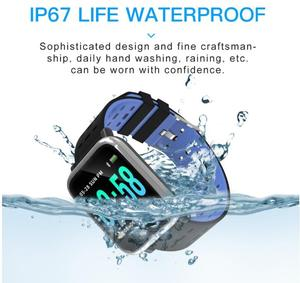Image 5 - BINSSAW A6 Smart Watch with Heart Rate Monitor Fitness Tracker Blood Pressure Smartwatch Waterproof For Android IOS PK Q8 V6 S9