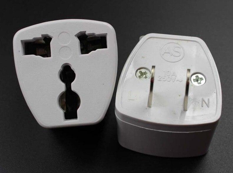 Steckdosen 20 Teile/los Amerikanischen Brasilien Mexiko Wand Stecker Universal Ac Power Stecker Netzstecker-adapter Uk Au Eu Us-adapter Konverter