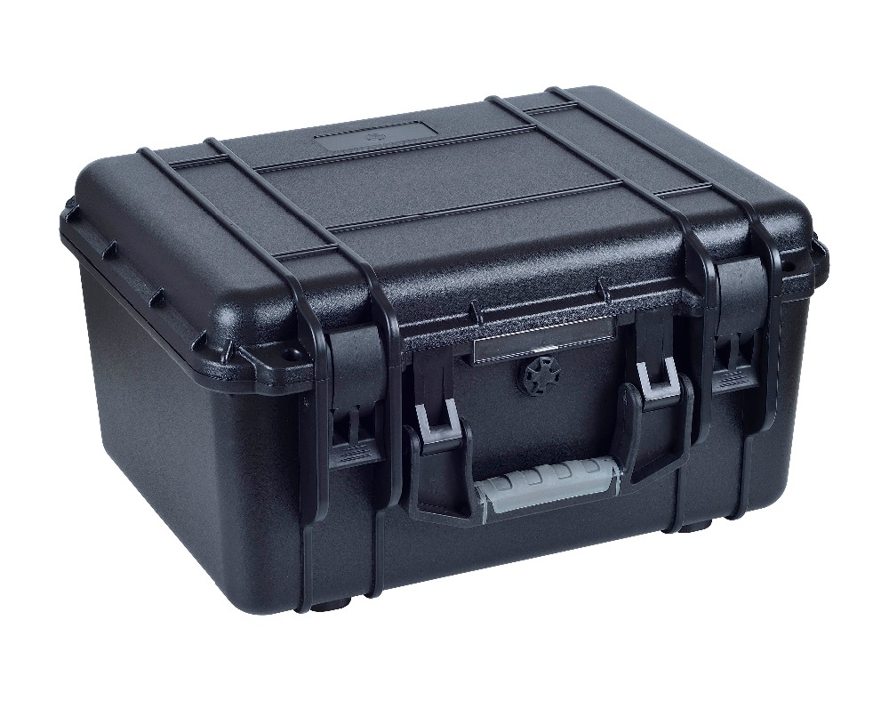 Free shipping with full foam hard plastic air-drop case for equipments full cube precut foam for case sq1284 without the hard case