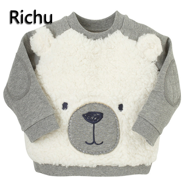 be289b2d75a59 Richu mignon pull manteaux garçons veste pour les filles hiver enfants  vestes enfants vêtements pré-