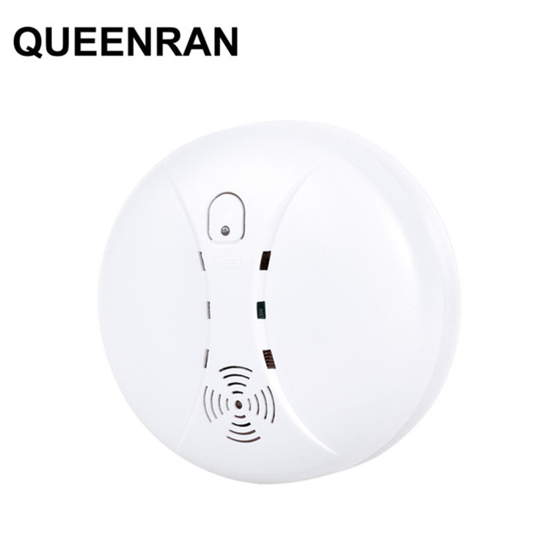High Quality Wireless Smoke Alarm Fire Detector Sensor 433MHz Fire Alarm Sensor With Test Button Ceiling Or Wall Mounting